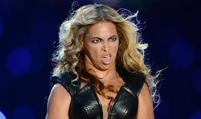 beyonce ugly face
