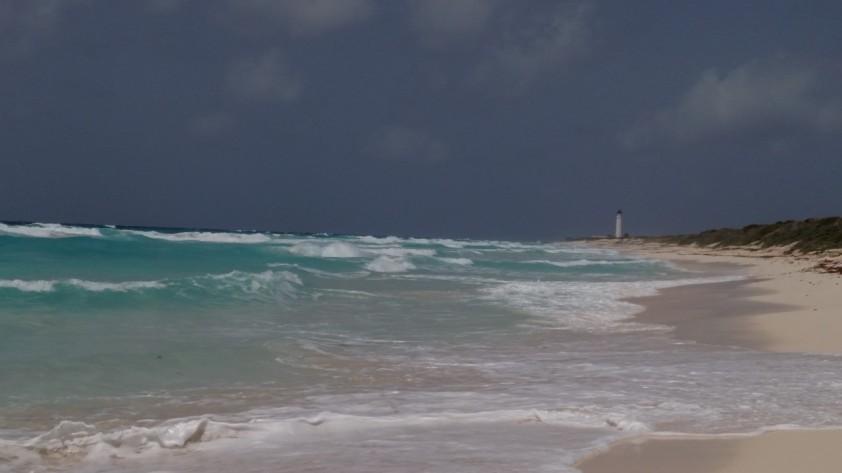 cozumel punta sur waves